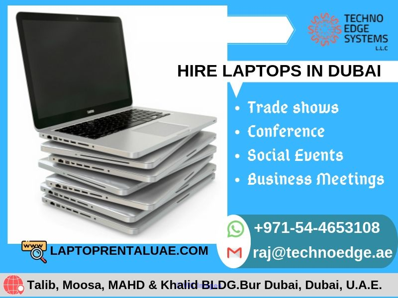 Laptop rental in dubai - rent and hire brand new laptops
